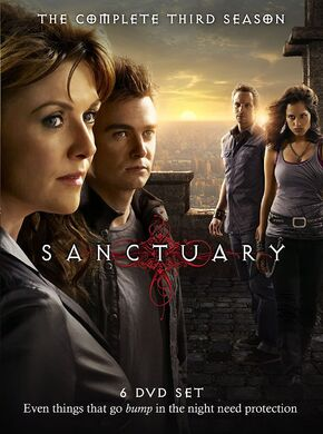 Sanctuary 3 DVD Cover Art