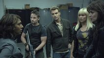 1x11 The Sanctuary team confronts the news crew