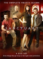 Sanctuary 4 DVD Cover Art