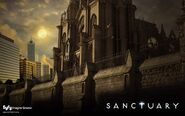 Sanctuary-wall syfy