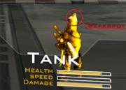 Tank Weakspot