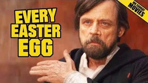 STAR WARS THE LAST JEDI - All Easter Eggs, Cameos & References
