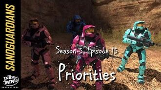 Sandguardians S03E13 - Priorities