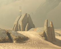 Sandtrap desert