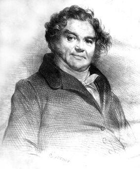 Achille Devéria - Vidocq