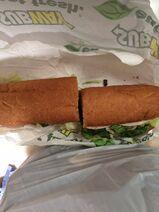 Second subway sandwich