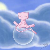Bubble mew by TeamAquaDan