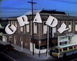 Grady opening screen logo