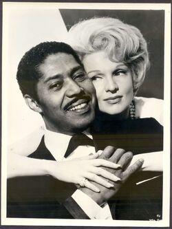 Paul E Harris with Marti Stevens 1962