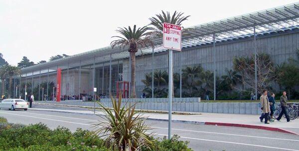 CAS-Front of California Academy Building