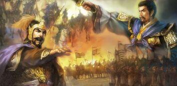Cao Cao and Yuan Shao