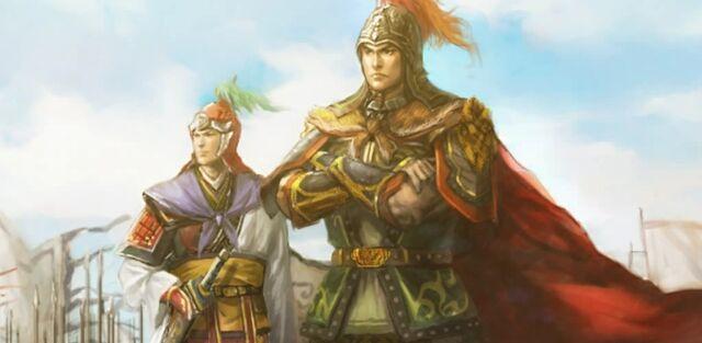 File:Sun Ce & Zhou Yu.jpg