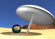 Dusty desert easter egg