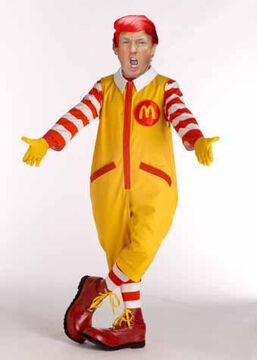 Ronald McDonald Trump