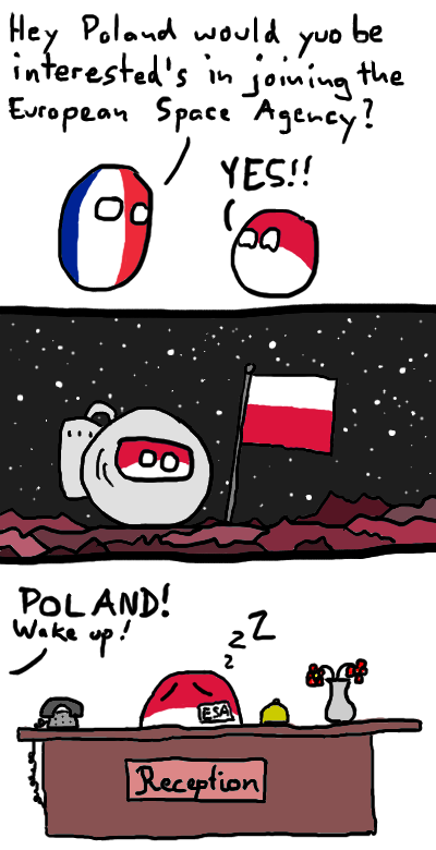 Poland can into the European Space Agency