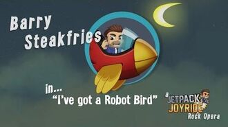 Jetpack Joyride Rock Opera - Robot Bird