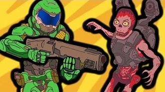 If DOOM was Realistic (Funny Animation)