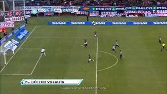 Gol Villalba. San Lorenzo 1 Racing 0. Fecha 9. Torneo Final 2013