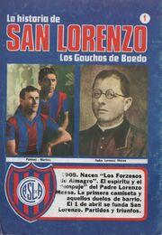 La Historia de SL. Los Gauchos de Boedo - Contratapa - 1