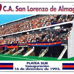 Entrada platea sur utilizada para la inauguración del Estadio Pedro Bidegain
