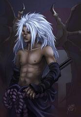 FANART Cursed Uchiha