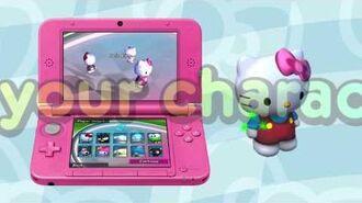 Hello Kitty - 3d Racing Trailer