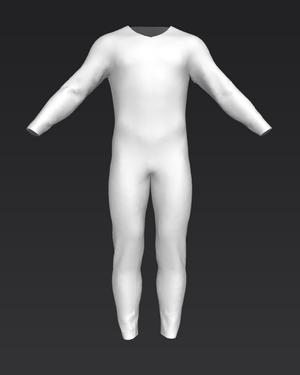 Generic Bodysuit Sansar male