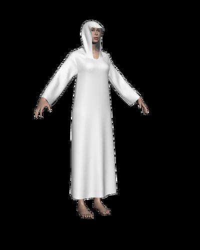 Cloak template Sansar female