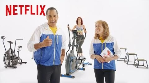 BodyBreak Santa Clarita Diet Demo Netflix