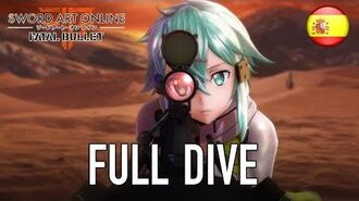 Sword Art Online Fatal Bullet - PS4 XB1 PC - Full dive (Spanish Announcement trailer