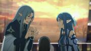 Asuna y Chrysheight