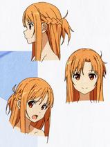 Asuna desing face