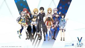 Sword Art Online Videojuegos 5th