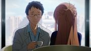 Dr Kurahashi y Asuna