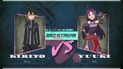 Kirito vs Yuuki