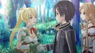Leafa ingresa en SAO
