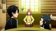 Kirito, Asuna y Yui