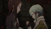 Sinon y Kirito