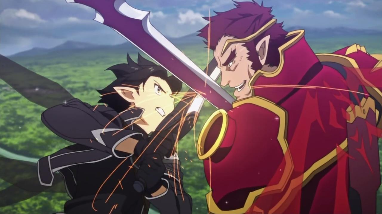 Episode 20 - General der lodernden Flammen   Sword Art Online Wiki ...