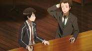 Kirito y Sinker en el mundo real