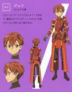 Jun's character desings (booklet)
