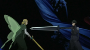 Kirito vs Oberon