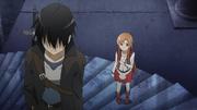 Kirito y Asuna piso 1