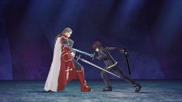 Kirito vs Heathcliff videojuego