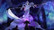 La guadaña vs Yui