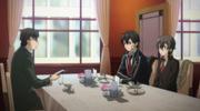 Kikuoka, Kazuto y Shino