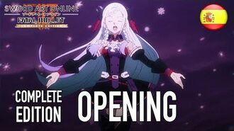 Sword Art Online Fatal Bullet Complete Edition - PC PS4 XB1 - Opening (Español)