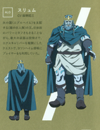 Thrym character design (booklet)