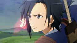 Kirito activando habilidad