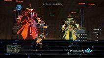Batalla contra el jefe (SAO FB)
